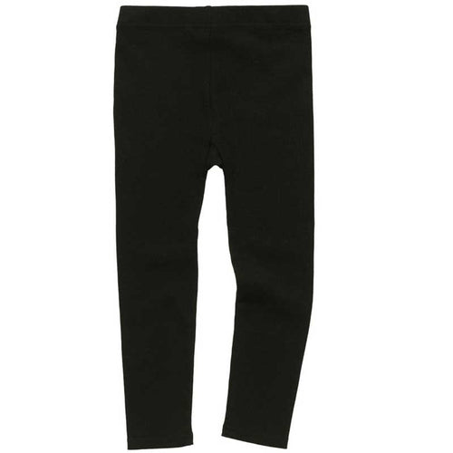 Rock Your Kid Black Ribbed Leggings