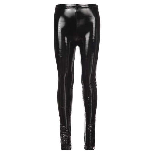 Appaman Metallic Black Girls Leggings