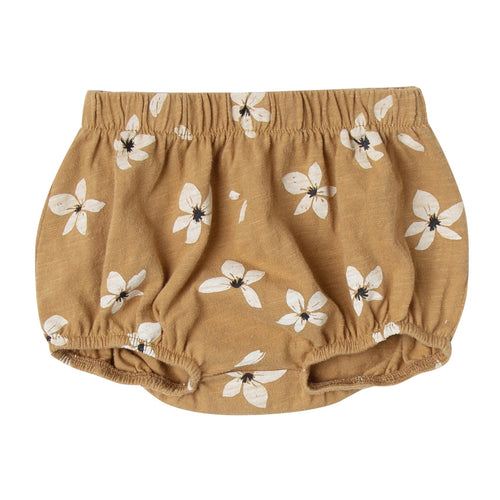 Baby girl hibiscus print bloomers