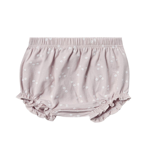Rylee and cru lilac print baby girl bloomers