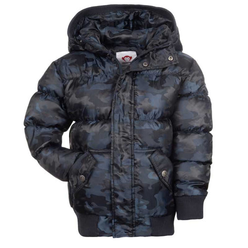 Appaman Puffy Boys Coat - Stargazer Camo