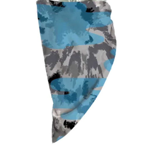 iScream Blue Tie Dye Bandana