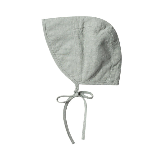 Rylee and cru light green baby bonnet