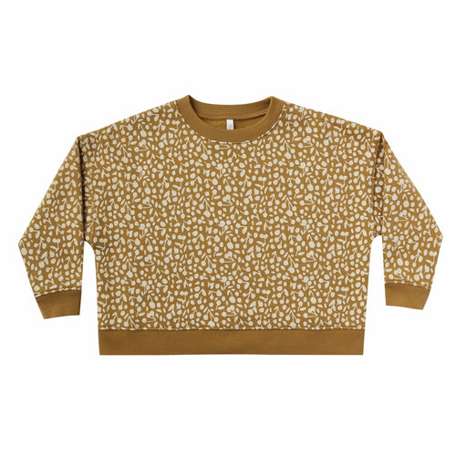 Rylee and cru mustard pullover kids sweater