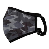 iScream Black Camo Face Mask - Child or Adult Size