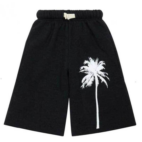 Black palm tree boys sweat shorts | Cool Boys Clothes