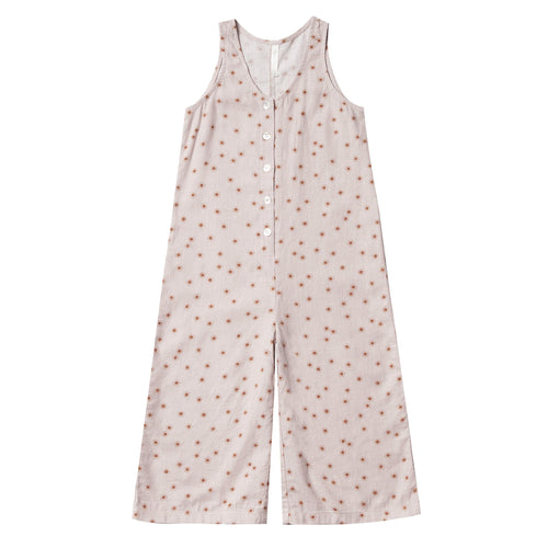 Rylee and cru pink sunshine girls jumpsuit