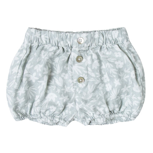 Baby girl light blue ditsy print bloomers