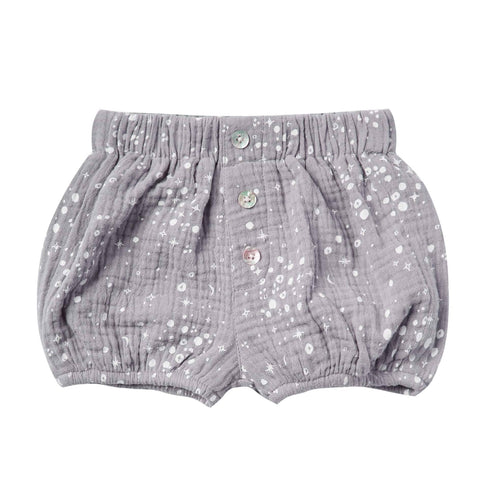 Rylee and Cru Moondust Button Baby Shorts