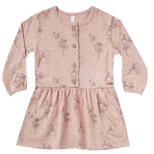 Rylee and cru pink long sleeve fairy dress for girls