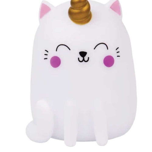 iScream Caticorn Color Changing Night Light