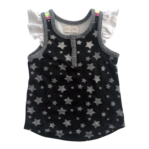 Rainbow Brite Cameron Top by Miki Miette - Little Skye Children's Boutique