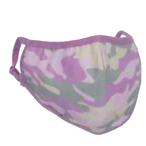 iScream Pink Camo Face Mask - Kid Size