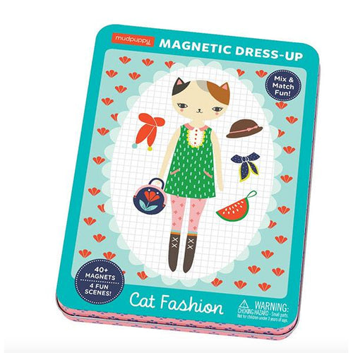 Cat Fashion Build-It Magnet Set - Little Skye Children's Boutique