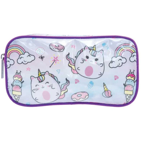 iScream Caticorn Pencil Case/Cosmetic Bag