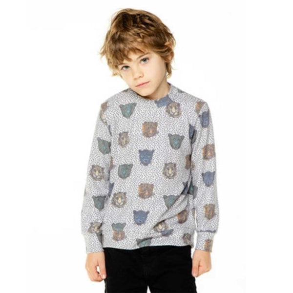Chaser Big Cats Love Knit Boys Pullover