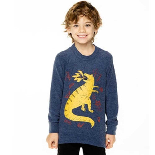 Chaser Dragon Love Knit Boys Pullover