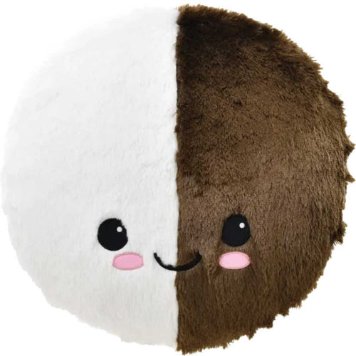 iScream Black and White Cookie Plush Pillow