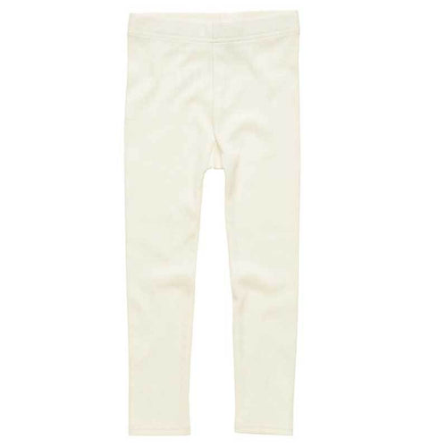 Rock Your Kid Cream Ribbed Leggings