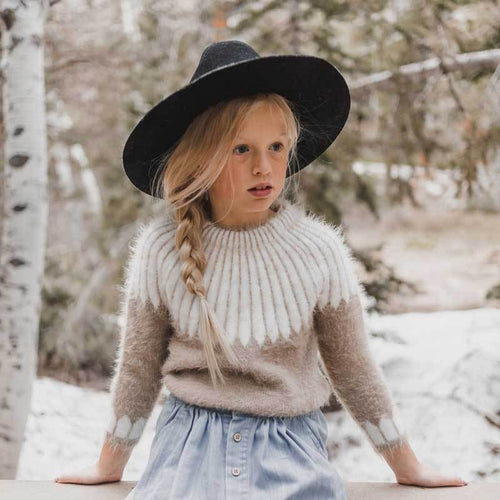 Rylee and Cru chalet girls winter sweater