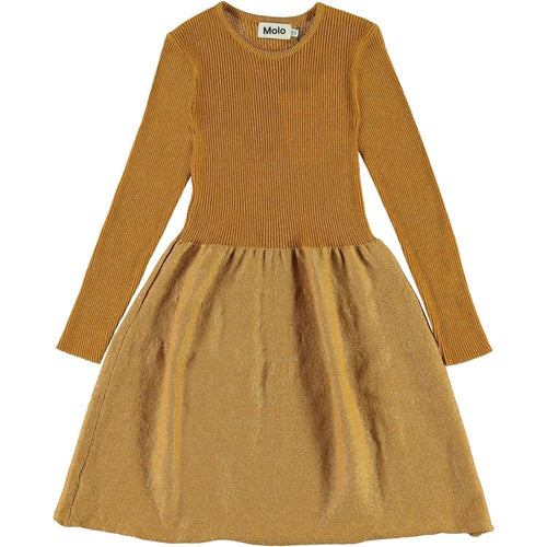 Molo Autumn Leaf Cameron Girls Dress