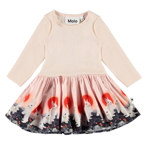 Molo Baby Bunnies Organic Baby Girl Dress