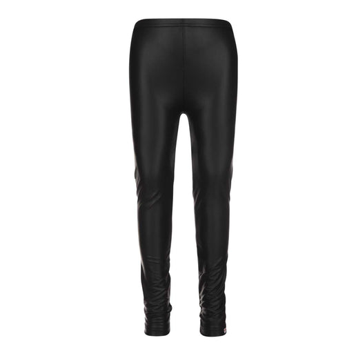 Appaman Black Fleece Lined Girls Leggings