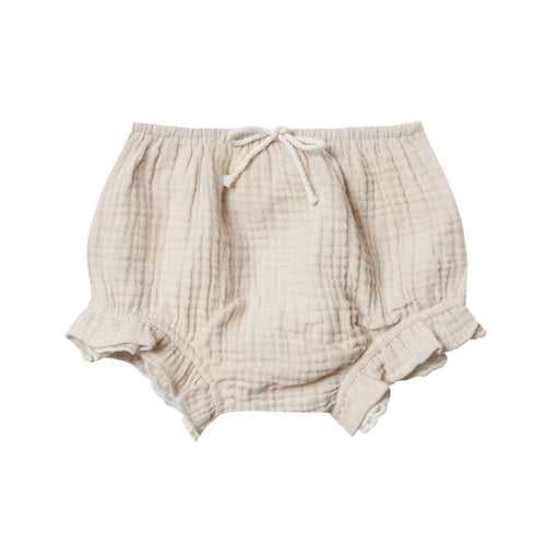 Rylee and cru ivory ruffle baby girl bloomers
