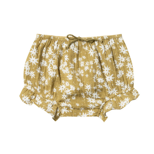 Rylee and cru daisy print ruffle baby girl bloomers
