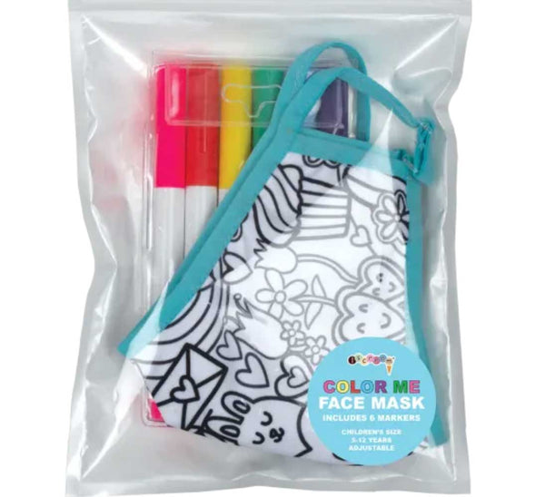 iScream Color Me Face Mask - Girl
