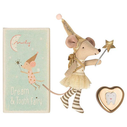 Maileg tooth fairy mouse in a box