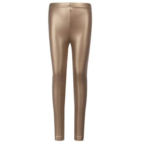 Appaman Metallic Gold Girls Leggings