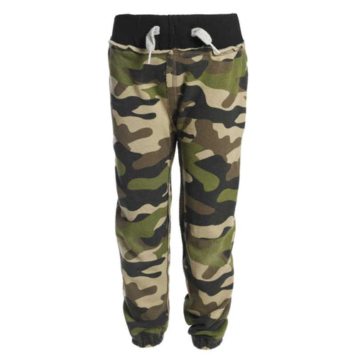 Appaman Green Camo Boys Jogger Sweatpants