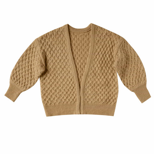 Rylee and cru mustard girls cardigan sweater