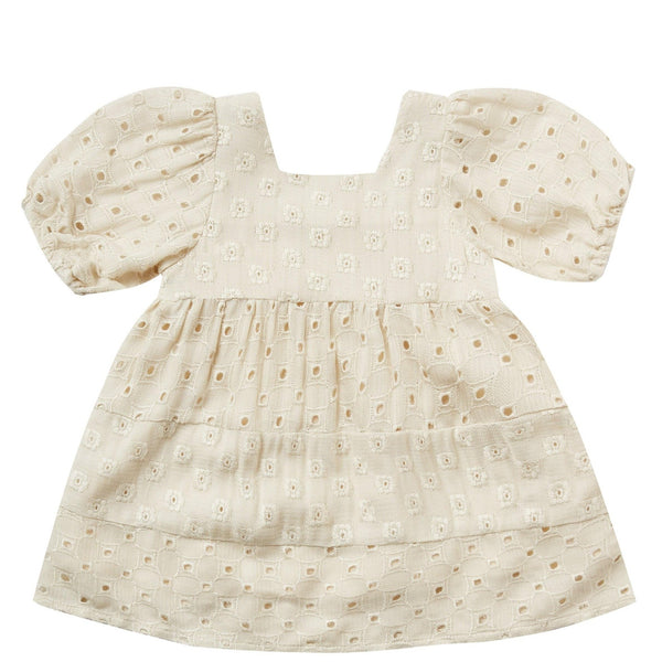 Rylee and Cru Natural Gretta Baby Doll Girls Dress