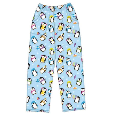 iScream Hanukkah Penguins Plush Girls Pants