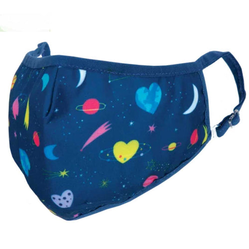 iScream Hearts Space Face Mask - Kid Size