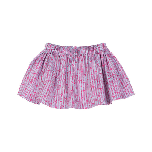 Heart Stripe Skirt by Little Wings (Preorder) - Little Skye Children's Boutique