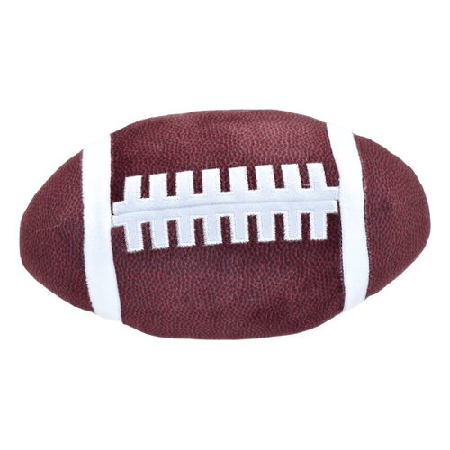 iScream Football Squishy Slow Rise Pillow