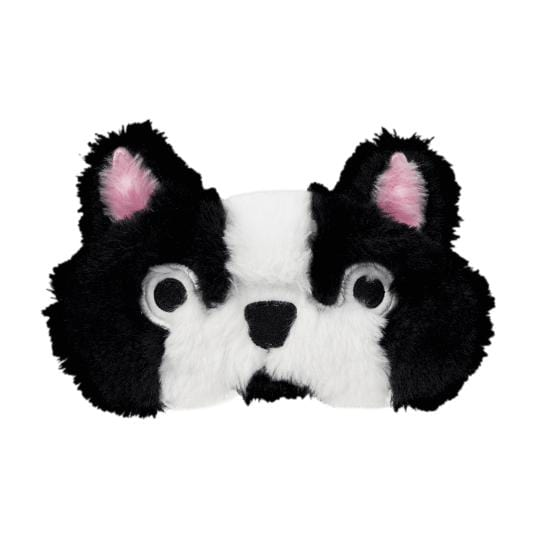 iScream bulldog furry sleep mask for kids