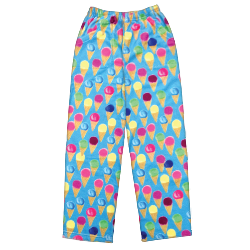 Ice cream girls fleece lounge pants
