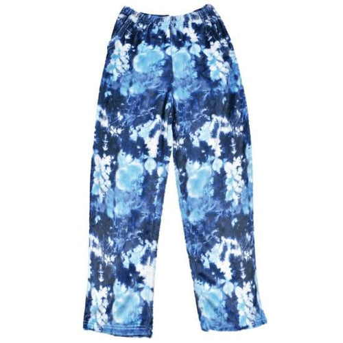 iScream Kids Blue Tie Dye Plush Pants