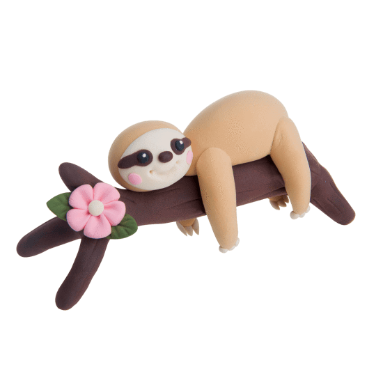 Image of Make Your Own Sloth with modeling clay