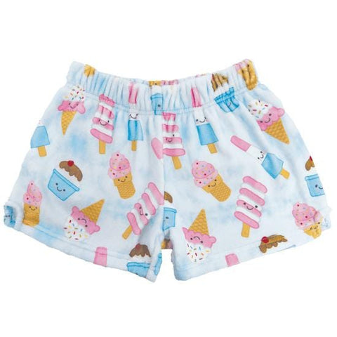 iScream Ice Cream Treats Plush Girls Shorts