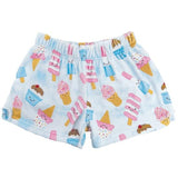 Ice Cream Treats Plush Girls Shorts by iScream