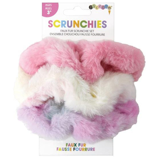 Faux Fur Scrunchies Set by iScream