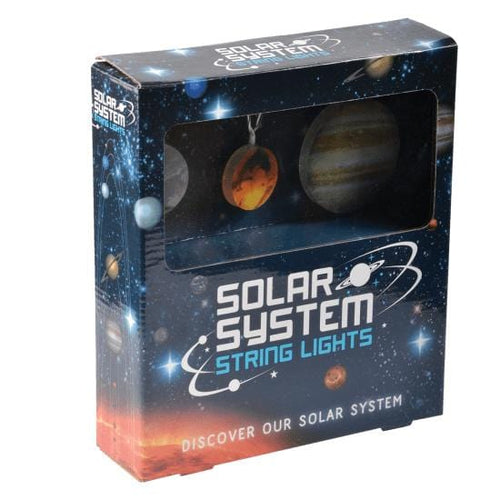 Solar System Planet String Lights from iScream