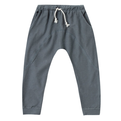 Boys dark grey pants with drawstring waist