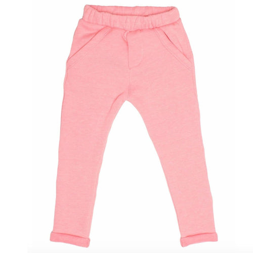Joah Love pink fleece girls joggers