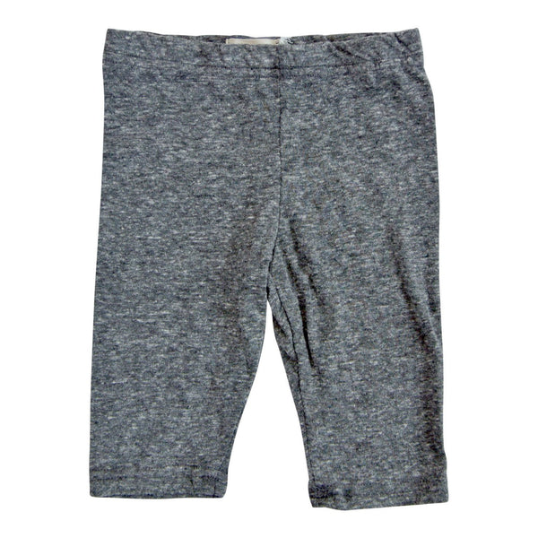Heather Grey Capri Girls Leggings